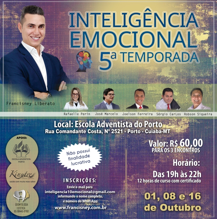 Cartaz TURMA 05 - Inteligência Emocional