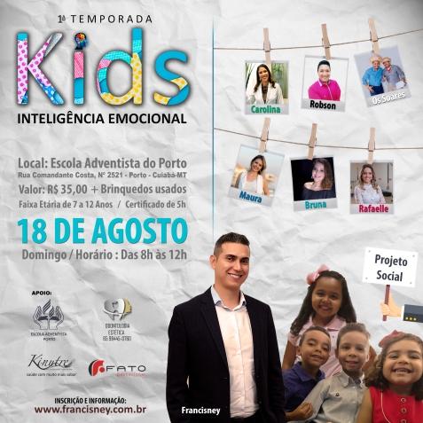 Cartaz TURMA 01 - Inteligência Emocional KIDS