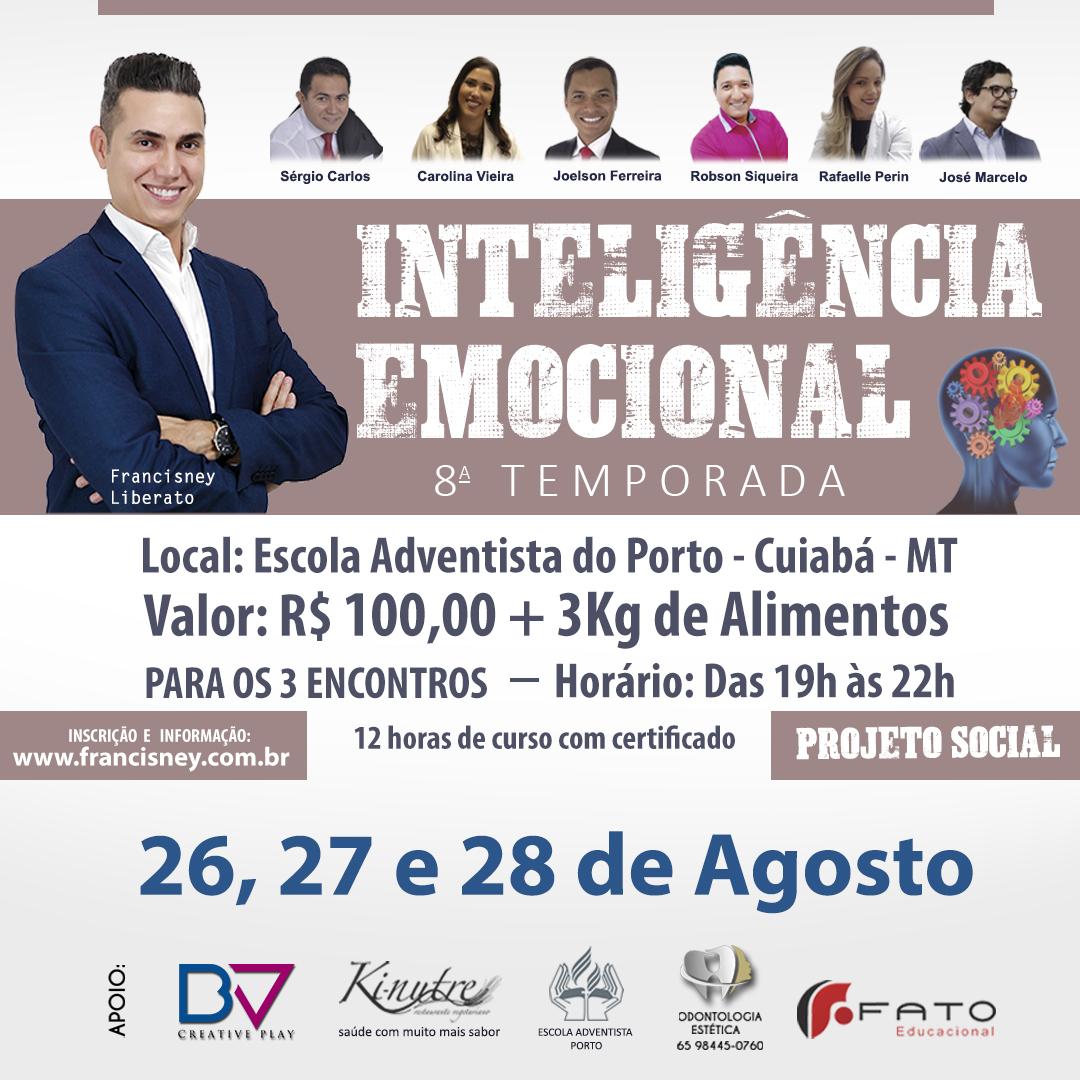 Cartaz TURMA 08 - Inteligência Emocional 1