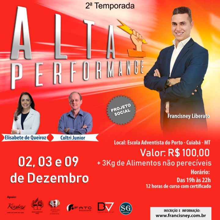 Cartaz TURMA 02 - Alta Performance a