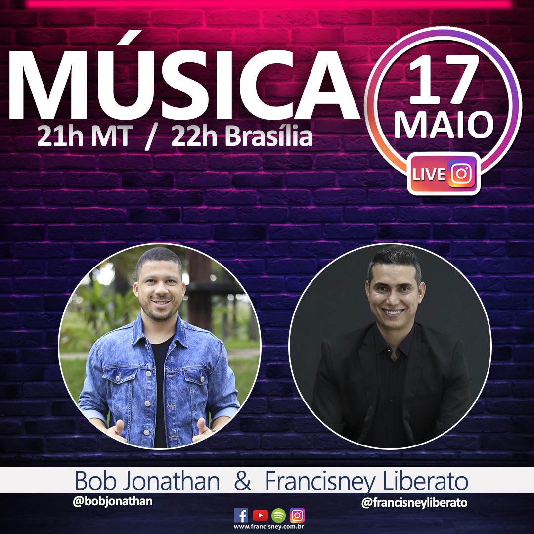 20 Música Cantor Bob Jonathan